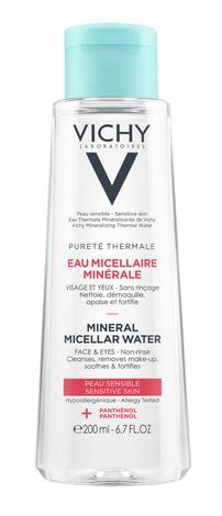 Vichy Purete Thermale Міцелярна вода для чутливої шкіри обличчя та очей 200 мл 1 флакон