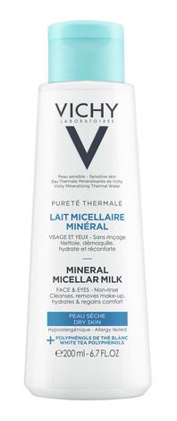 Vichy Purete Thermale Міцелярне молочко для сухої шкіри обличчя та очей 200 мл 1 флакон