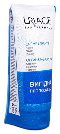 Uriage Очищуючий крем 200 мл + крем-скраб для тіла 200 мл 1 набір