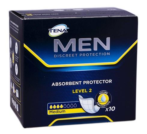 Tena Men Level 2 Medium Прокладки урологічні чоловічі 10 шт