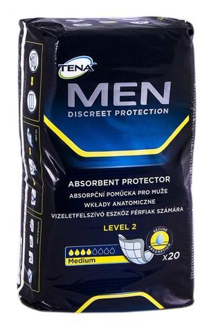 Tena Men Level 2 Medium Прокладки урологічні чоловічі 20 шт