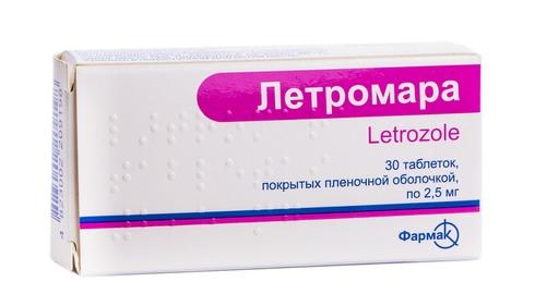 Лєтромара таблетки 2,5 мг 30 шт