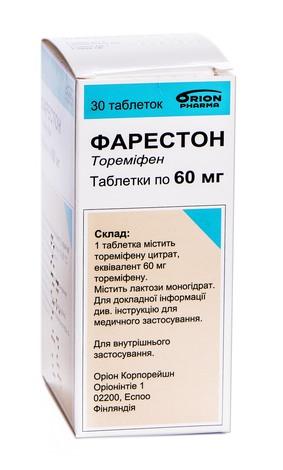Фарестон таблетки 60 мг 30 шт