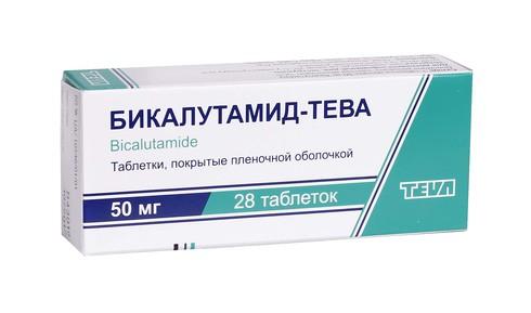 Бікалутамід Тева таблетки 50 мг 28 шт