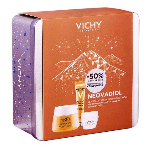 Vichy Neovadiol крем-догляд 50 мл + нічний крем-догляд 15 мл + GF контур 15 мл 1 набір