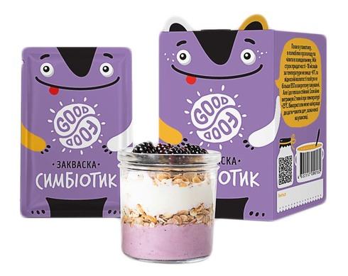 Good Food Закваска бактеріальна Симбіотик порошок 5 пакетів