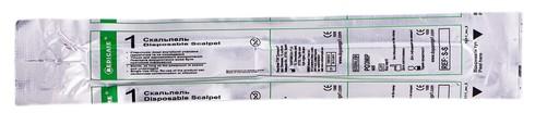Medicare Скальпель одноразовий стерильний розмір 21 1 шт