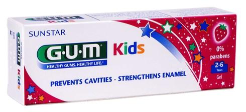 Gum Kids Зубна паста-гель для дітей 2-6 років 50 мл 1 туба