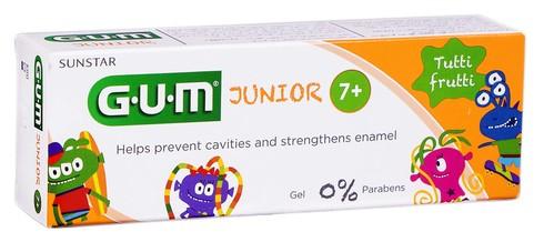 Gum Junior Tutti Frutti Зубна паста-гель 50 мл 1 туба