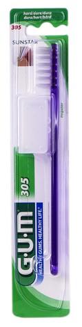 Gum Classic Зубна щітка компактна жорстка 1 шт
