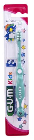 Gum Kids Зубна щітка для дітей 3-6 років 1 шт