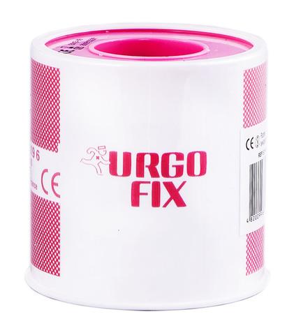 Urgo Ургофікс пластир на тканинній основі 5 м х 5 см тілесний 1 шт