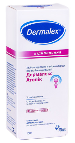 Дермалекс Атопік крем 100 г 1 туба