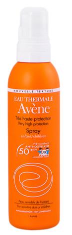 Avene Сонцезахисний спрей для чутливої шкіри дітей SPF-50+  200 мл 1 флакон