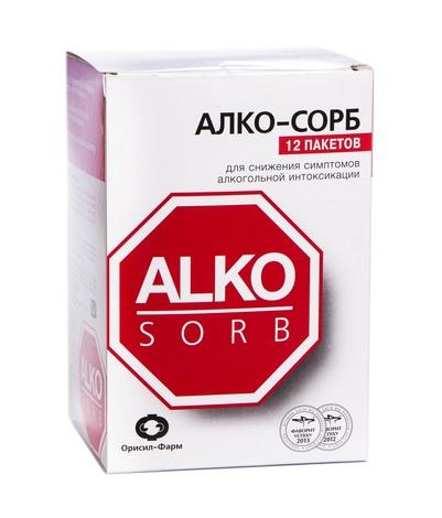Алко-Сорб порошок 7,5 мг 12 пакетів-саше