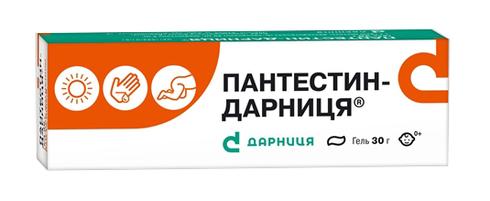 Пантестин Дарниця гель 30 г 1 туба
