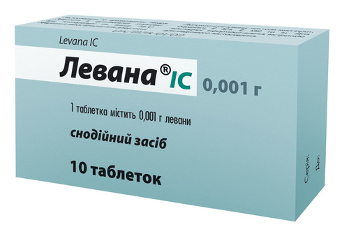 Левана IC таблетки 1 мг 10 шт