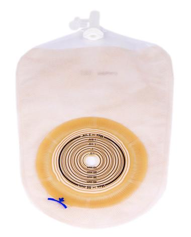Coloplast Alterna 17477 Калоприймач уростомний мішок однокомпонентний прозорий 10-55 мм 375 мл 30 шт