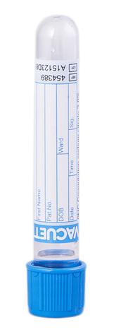 Vacuette Пробірка з натрію цитратом 3,8% 4,5 мл 454389 13 х 75 мм 1 шт