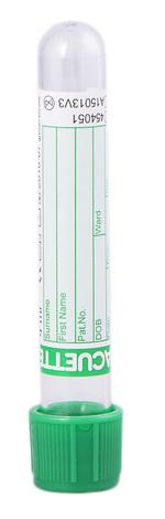 Vacuette Пробірка з натрію гепарином 4 мл 454051 31 х 75 мм 1 шт