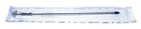 Каммед Дренаж торакальний на металевому стилеті-троакарі Ch 30 10х350 мм 1 шт