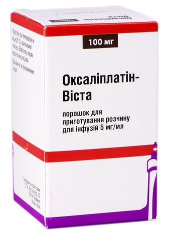 Оксаліплатін Віста порошок для інфузій 100 мг 1 флакон