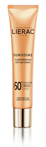 Lierac Sunissime Флюїд захисний SPF-50+ 40 мл 1 туба