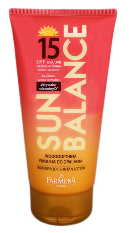 Farmona Sun Balance Лосьйон сонцезахисний для засмаги SPF-15 150 мл 1 туба