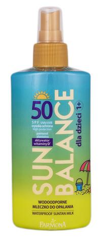 Farmona Sun Balance Молочко водостійке для засмаги для дітей SPF-50 150 мл 1 флакон