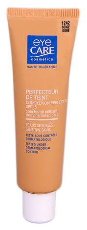 Eye Care Cosmetics Засіб що корегує та вирівнює текстуру шкіри з SPF-25 колір золотисто-бежевий 25 мл 1 туба