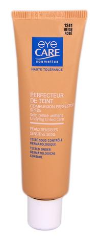 Eye Care Cosmetics Засіб що корегує та вирівнює текстуру шкіри з SPF 25 колір рожево-бежевий 25 мл 1 туба