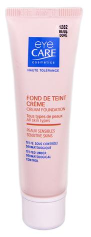 Eye Care Cosmetics Крем тональний з SPF-25 колір золотисто-бежевий 26 г 1 туба