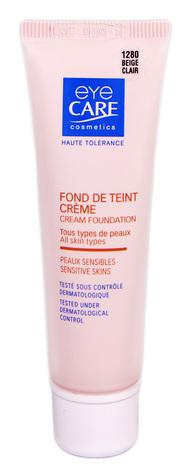 Eye Care Cosmetics Крем тональний з SPF-25 колір світло-бежевий 26 г 1 туба