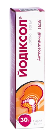Йодіксол спрей 85 мг/г 30 г 1 флакон