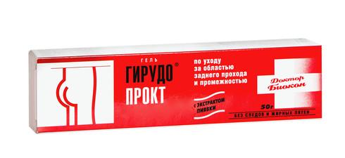 Гірудопрокт гель 50 г 1 туба