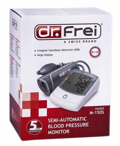 Dr.Frei М-150S Тонометр напівавтоматичний 1 шт
