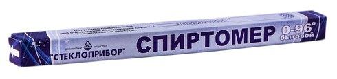 Склоприлад Спиртомір побутовий 0-96 градус 1 шт