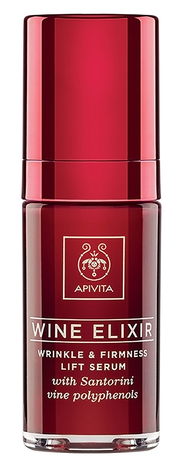 Apivita Wine Elixir Сироватка-ліфтинг проти зморшок з поліфенолами вина регіону Санторіні 30 мл 1 флакон