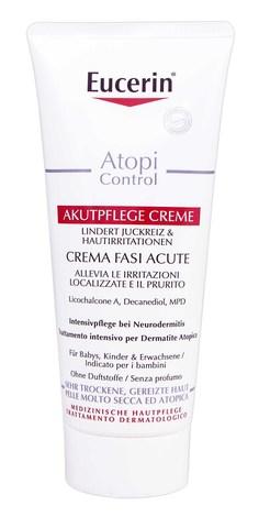 Eucerin AtopiControl Крем інтенсивний заспокоюючий для атопічної шкіри в період загострення 100 мл 1 туба