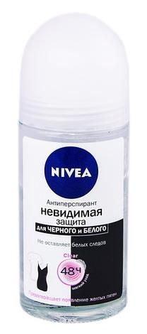 Nivea Дезодорант-антипреспірант Невидимий захист Clear 50 мл 1 флакон