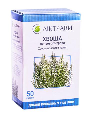 Ліктрави Хвоща польового трава 50 г 1 пачка