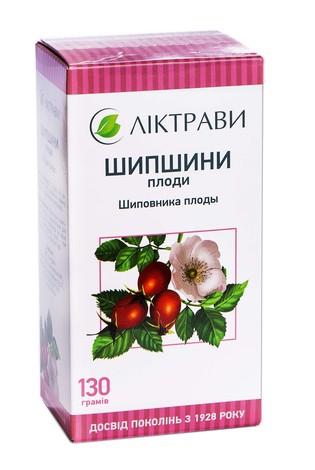 Ліктрави Шипшини плоди 130 г 1 пачка