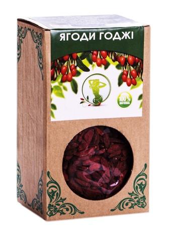 Naturalis Ягоди годжі ягоди 100 г 1 пачка