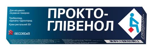 Прокто-Глівенол крем ректальний 30 г 1 туба