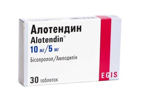 Алотендин таблетки 10 мг/5 мг  30 шт