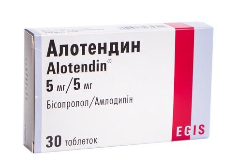 Алотендин таблетки 5 мг/5 мг  30 шт