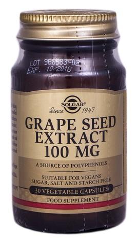 Solgar Екстракт виноградних кісточок капсули 100 мг 30 шт