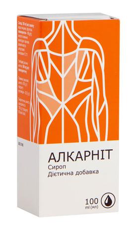 Алкарніт сироп 100 мл 1 флакон