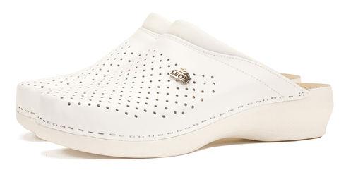 Leon PU 100 Медичне взуття жіноче білого кольору 36 розмір 1 пара