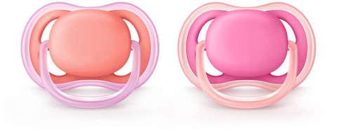 Avent Philips Ultra Air Пустушка для дівчаток 6-18 місяців SCF245/22 2 шт